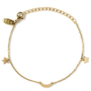 Marina De Buchi  Moon and Stars Luxe Gold Bracelet